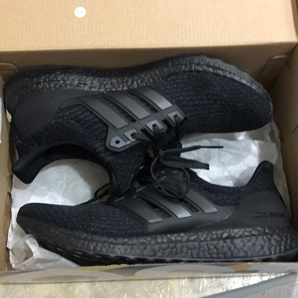 537b1e3ec adidas Other - Ultra boost triple black 2.0 brand new